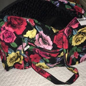 Vera Bradley extra large duffel bag brand new